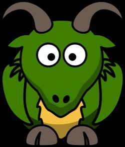 Clipart - Cartoon Dragon