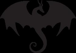 Image - 993aee05451d022efcb2cc875fea86f5 -dragon-silhouette-cute ...