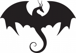 Dragon Silhouette Images at GetDrawings.com | Free for personal use ...