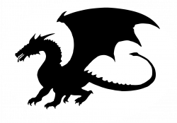 Dragon Silhouette Free at GetDrawings.com | Free for personal use ...