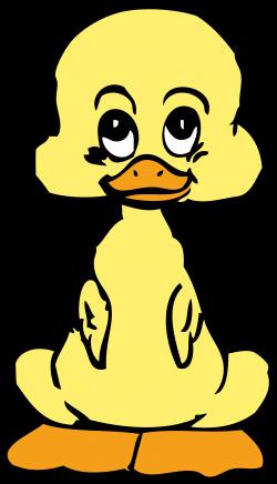 Clipart - baby duck