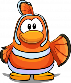 Image - Nemo Costume on a Player Card.png | Club Penguin Wiki ...