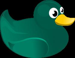 Public Domain Clip Art Image | Rubber Duck | ID: 13944795018955 ...