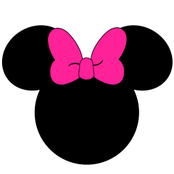 Silhouette Minnie Mouse at GetDrawings.com | Free for personal use ...