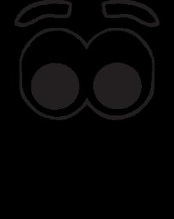 clip art eyes nose mouth tikigiki smile face 002 - Clip Art. Net