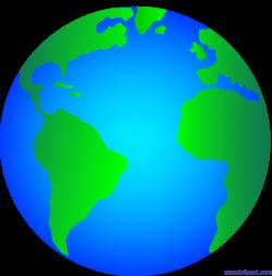 Shiny Glossy Earth Logo Clip Art - Sweet Clip Art