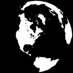 Black And White Globe Clip Art at Clker.com - vector clip art online ...