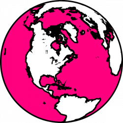 Earth clipart pink ~ Frames ~ Illustrations ~ HD images ~ Photo ...