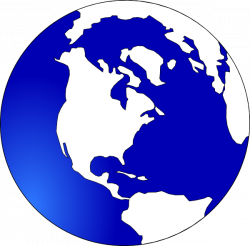 Globe Black And White Outline | Clipart Panda - Free Clipart Images
