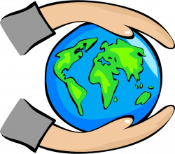 You can use this protect the Earth clip art on your upcoming Earth ...