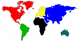 World Map Clip Art Powerpoint | Clipart Panda - Free Clipart Images