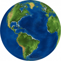 Earth clipart realistic - Pencil and in color earth clipart realistic