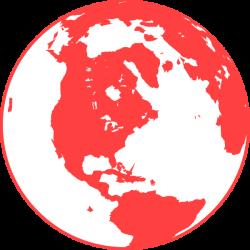 Coral Globe Clip Art at Clker.com - vector clip art online, royalty ...