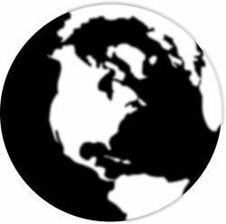 Earth Silhouette at GetDrawings.com | Free for personal use Earth ...