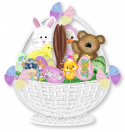 Easter Gift Basket PNG Clipart Picture | Gallery Yopriceville ...
