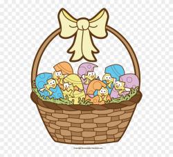 Free Easter Basket Clipart - Easter - Png Download (#34078 ...