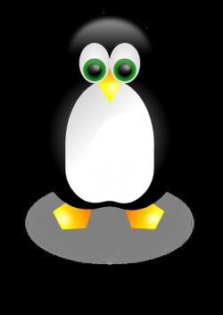 clipartist.net » Clip Art » penguin 2 linux scallywag March ...