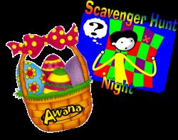 Awana Egg Hunt/Easter Scavenger Hunt Night