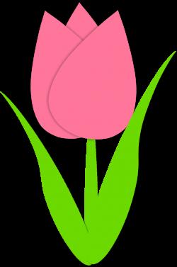 Simple Tulip Outline Simple tulip outline | Spring | Pinterest ...