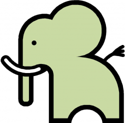 Free Simple Cartoon Elephant, Download Free Clip Art, Free ...