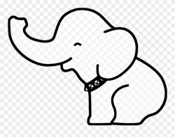 Drawn Elephant Easy Clipart (#2970001) - PinClipart