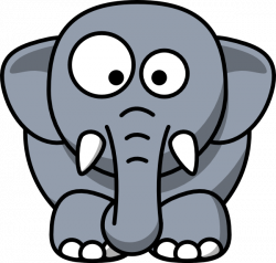 Baby Elephant Clipart Outline | Clipart Panda - Free Clipart Images