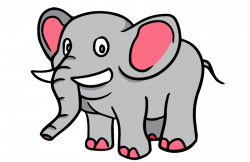 elephant | Free Cartoon Elephant Clip Art | Elephants | Pinterest ...