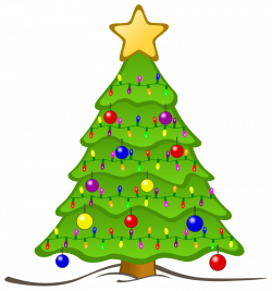 Christmas Tree Lights Clipart