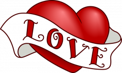 Vintage Heart Clip Art Design for Valentine's Day | Pinterest ...