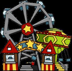 28+ Collection of Amusement Park Clipart Transparent | High quality ...