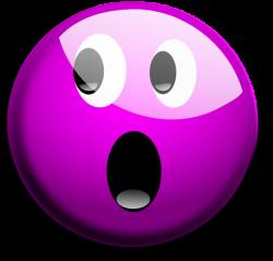 Purple Crying Smiley Face Clip Art | glassy smiley emoticon clip art ...