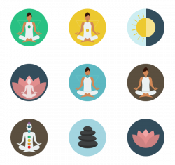 Yoga Icons - 1,171 free vector icons