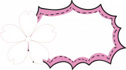 Cartoon Speech balloon - Activity cute cherry borders 2379*1329 ...