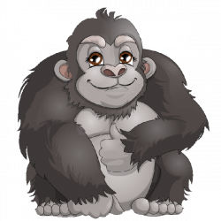 28+ Collection of Gorilla Clipart Png | High quality, free cliparts ...