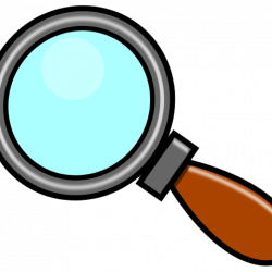 Magnifying Glass Clipart halloween clipart hatenylo.com