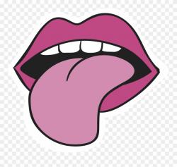 Clipart Eye Mango - Clipart Tongue Png Transparent Png ...
