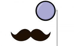 Mustache Clip Art Monocle   Beauty Within Clinic