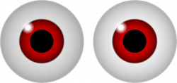 28+ Collection of Creepy Clipart Eyes | High quality, free cliparts ...