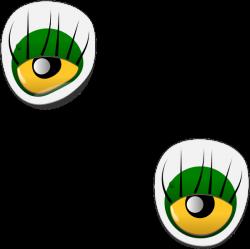 Dogface Jim Monster Eye Sticker Clip Art at Clker.com - vector clip ...