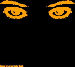 Orange Eyes Clip Art at Clker.com - vector clip art online, royalty ...