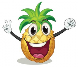 Pineapple Clipart eye 9 - 450 X 387 Free Clip Art stock ...