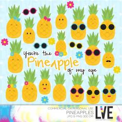 Pineapple clipart Pineapple of my Eye Kawaii Clipart ...