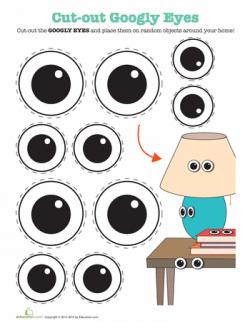 Printable Googly Eyes | Halloween | Halloween eyes, Googly ...