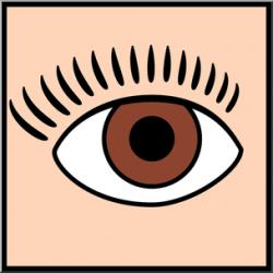 Clip Art: Senses 1 Sight Color I abcteach.com | abcteach