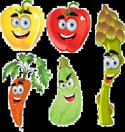 Vegetable Cartoon Fruit Clip art - Cartoon vegetable material 944 ...