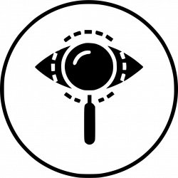 Eye Mission Vision View Find Search Magnifier Glass Svg Png Icon ...
