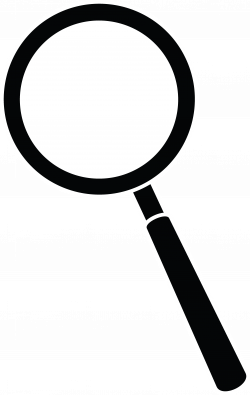 Magnifying Glass Clipart Black And White | Clipart Panda - Free ...