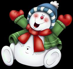 Hiver Noel Bonhommes De Neige Cute Snowmen Neige Clipart   Snowmen ...