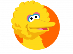 Face Clipart big bird - Free Clipart on Dumielauxepices.net