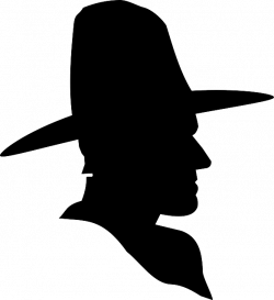 Cowboy Cross Silhouette at GetDrawings.com | Free for personal use ...